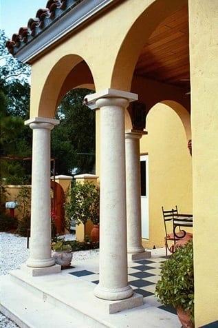 Exterior Columns 2