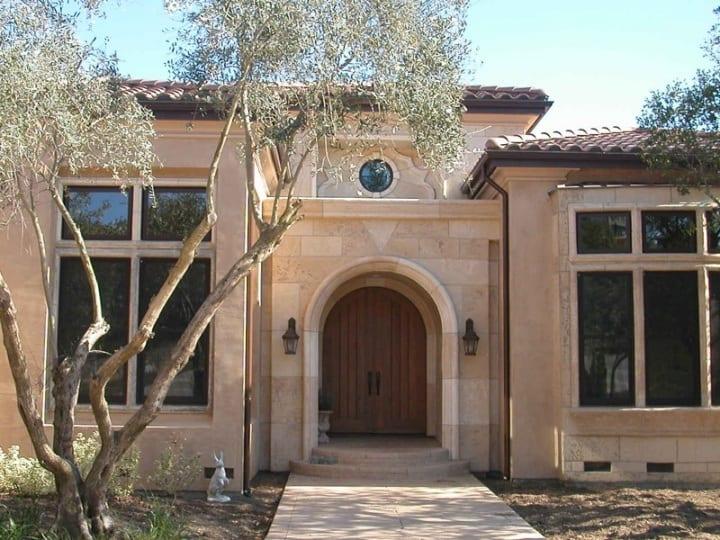 Stone-Plaster-facade