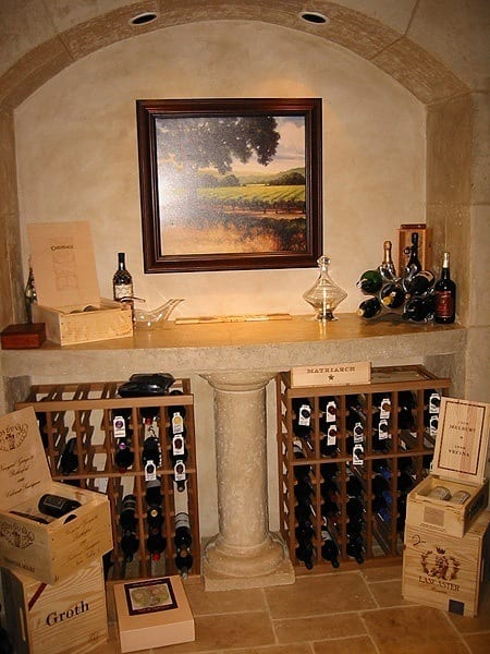Wine Cellar Counter