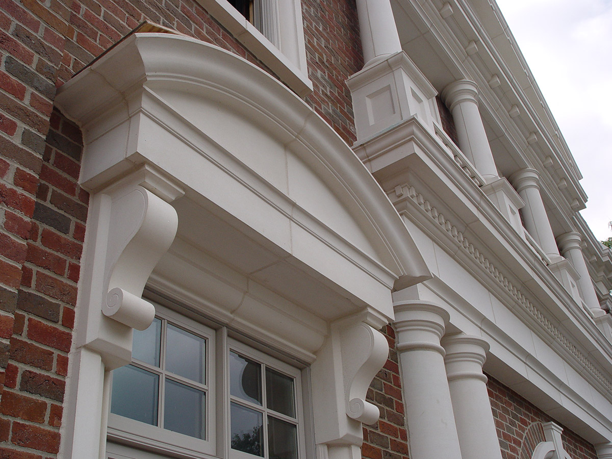 Columns, Carvings and Moldings